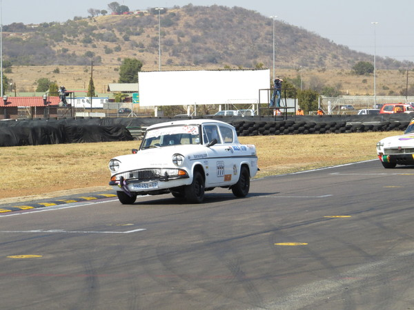 Race one, MGB tailing
