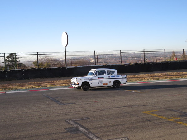 Qualifying at Kyalami