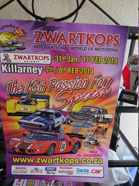 Zwartkops Raceway Historical International 31 January and 1 February 2014