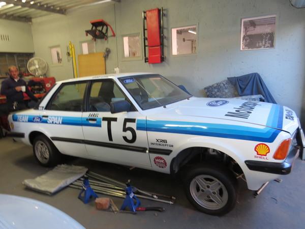 Gary Stacey's,  Sarel Van Der Merwe replica Mk5 Interceptor!