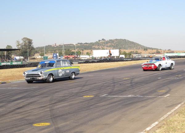 Gary leading an Alfa