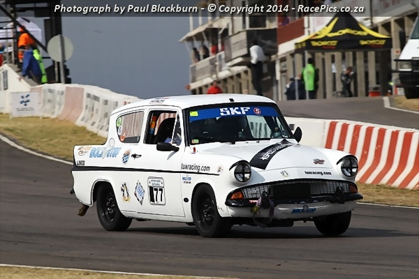 Photograph by RacePics.co.za Paul Blackburn, happy to see Paul back in the lions den so soon after his encounter with Willie's Capri, Thanks Paul!