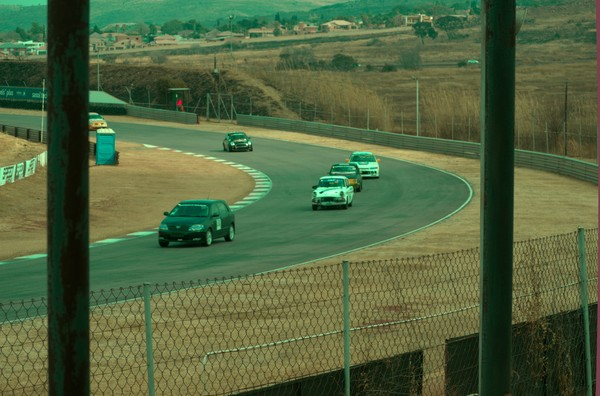Some of the company we kept Speed and Sound 111Sports and Saloons     Photo: Johan Venter