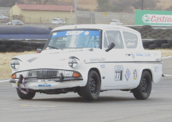 Fossa exiting corner eight at Zwartkops