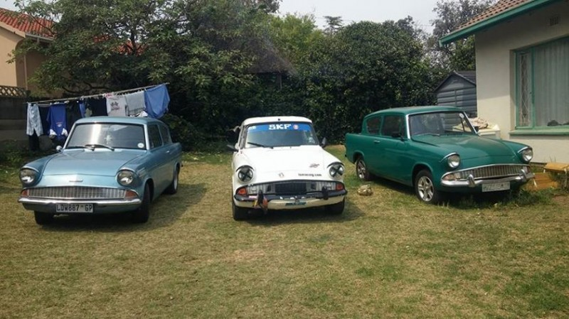 Our Ford Anglia Family