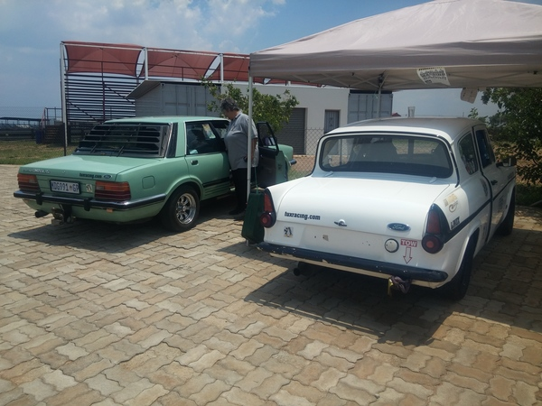 Fossa Ford Anglia's pit spot