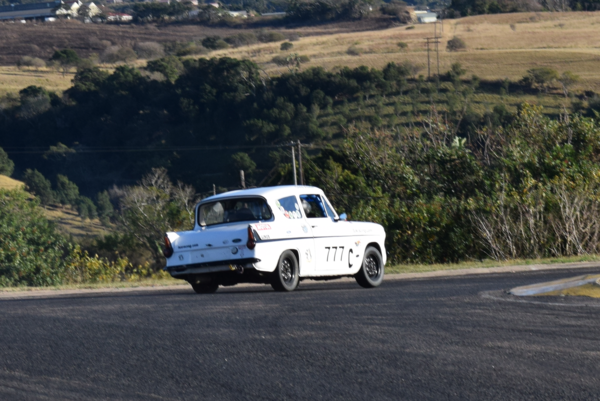 Fossa Ford Anglia exit corner two Pic: Annalie